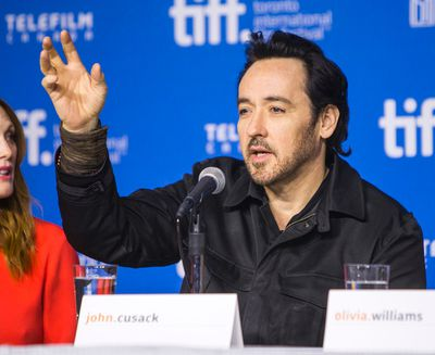 John Cusack during the presser for the Maps to the Stars during the Toronto International Film Festival in Toronto on Tuesday September 9, 2014. (Ernest Doroszuk/QMI Agency)
