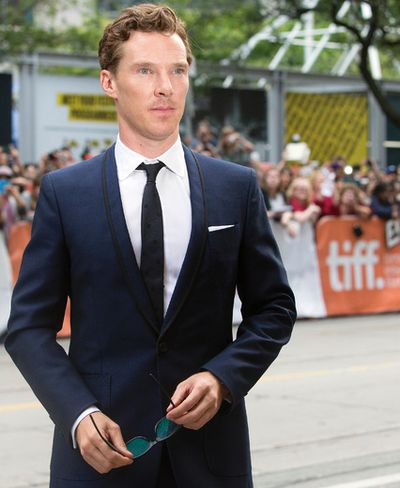 Benedict Cumberbatch on the red carpet for movie