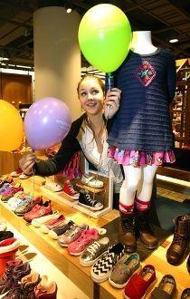 Nordstrom Kids Shoes Sales Shaniya Clayton Chinook mall charity fundraiser gala
