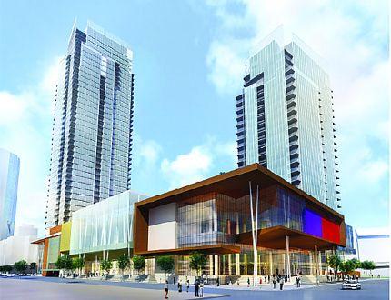 artist rendering condo development East Village