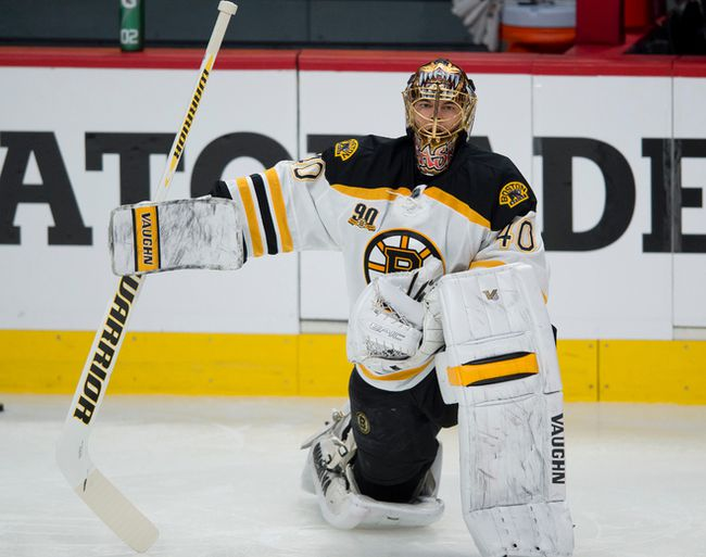Bruins goalie Tuukka Rask has been a rock in the Beantown goal. (Pierre-Paul Poulin/QMI Agency)