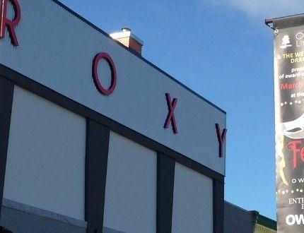 The Roxy Theatre.