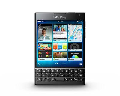 BlackBerry Passport. (BlackBerry/HO)