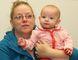 JOHN LAPPA/THE SUDBURY STAR Tarra Barnett and her six-month-old baby, Sophia, face deportation.