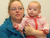 Tarra Barnett and her six-month-old baby, Sophia, face deportation. (JOHN LAPPA/QMI Agency)