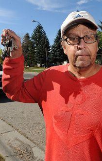Darrell Vaughn car stolen from a handicapped parking stall