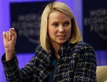Yahoo CEO Marissa Mayer. REUTERS/Ruben Sprich
