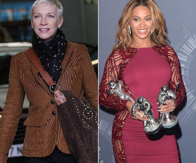 """Annie Lennox and Beyonce (<A HREF=""""http://www.wenn.com"""" TARGET=""""newwindow"""">WENN.COM</a>)"""