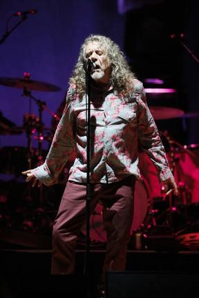 Robert Plant in concert at Massey Hall in Toronto on Sept. 30, 2014. (STAN BEHAL/Toronto Sun)