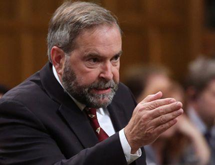 NDP leader Thomas Mulcair CHRIS WATTIE/REUTERS