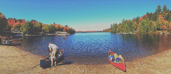 Canoe Lake, Algonquin Park. Nelson Phillips file photo.