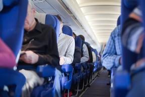 Airplane seats.   (Fotolia)