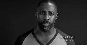 Idris Elba in a public service announcement for Ebola (YouTube screen shot)