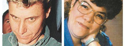 Convicted killer Deborah Point. Murder victim Audrey Trudeau