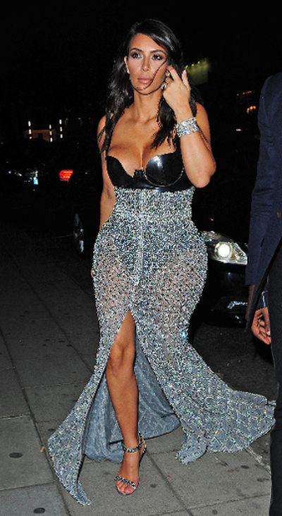 "2014: Kim Kardashian at Hakkasan restaurant London, England. (<A HREF=""http://www.wenn.com"" TARGET=""newwindow"">WENN.COM</a>)"
