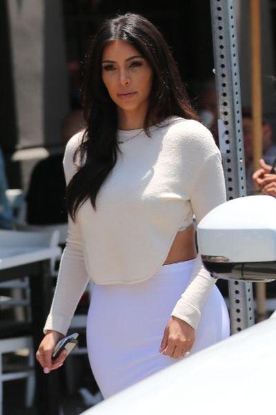 """2014: Kim Kardashian at Toast restaurant in Los Angeles. (<A HREF=""""http://www.wenn.com"""" TARGET=""""newwindow"""">WENN.COM</a>)"""