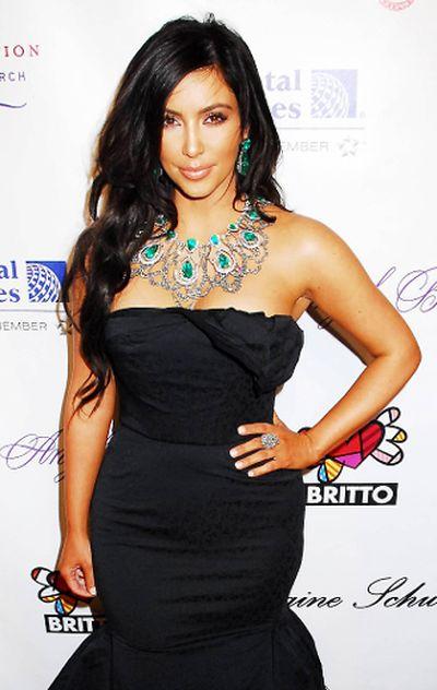 """2010: Kim Kardashian at Gabrielle's Angel Foundation for Cancer Research in New York City. (Patricia Schlein/<A HREF=""""http://www.wenn.com"""" TARGET=""""newwindow"""">WENN.COM</a>)"""