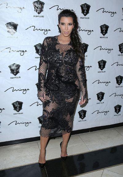 "2012: Kim Kardashian at 1 Oak Nightclub at The Mirage Resort and Casino Las Vegas in Las Vegas. (Judy Eddy/<A HREF=""http://www.wenn.com"" TARGET=""newwindow"">WENN.COM</a>)"