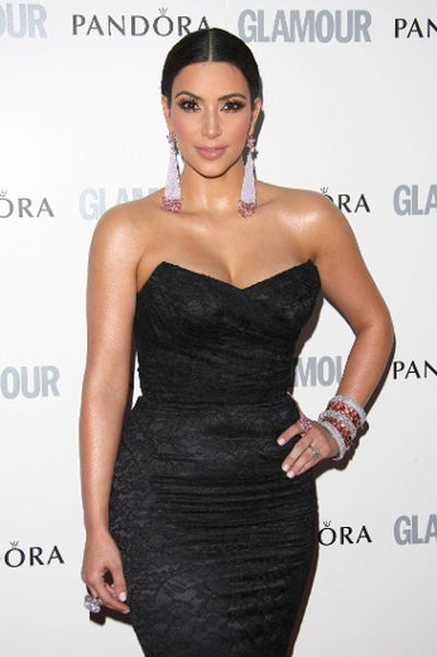 "2011: Kim Kardashian at The Glamour Women of the Year Awards in London, England. (Lia Toby/<A HREF=""http://www.wenn.com"" TARGET=""newwindow"">WENN.COM</a>)"