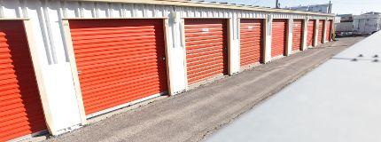 U-Haul storage facility