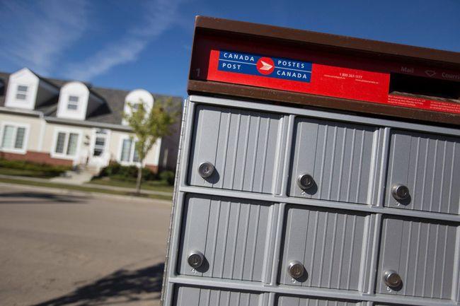 A Canada Post community mailbox. (Ian Kucerak/Postmedia Network files)