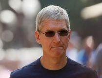 Apple Inc. CEO Tim Cook. REUTERS/Rick Wilking