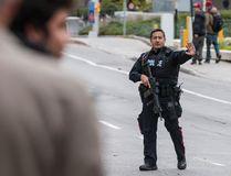 Police set up a perimeter near Parliament Hill in Ottawa on Wednesday Oct. 22, 2014. (Errol McGilhon/QMI Agency)
