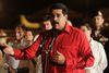 Venezuela's President Nicolas Maduro talks to the media at Havana's Jose Marti Airport, October 19, 2014. (REUTERS/Stringer)