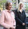 Karen Stintz, left, endorses Christin Carmichael Greb for councillor in Ward 16 (Eglinton-Lawrence) on Thursday, Oct. 23, 2014. (Veronica Henri/Toronto Sun)