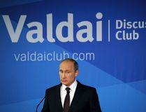 Russia's President Vladimir Putin speaks during a meeting at the Valdai Discussion Club in Sochi, October 24, 2014. (RIA Novosti/Reuters)