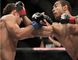 Jose Aldo (right) and Chad Mendes (left) renew hostilities at UFC 179 on Saturday in Rio de Janeiro, Brazil. (Ricardo Moraes/Reuters/Files)