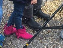 John Tory motorcycle boots