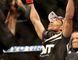 Jose Aldo (red gloves) celebrates beating Ricardo Lamas (blue gloves) during UFC 169 at Prudential Center Feb. 1, 2014. (Joe Camporeale/USA TODAY Sports)
