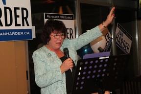 It was no contest for incumbent Jan Harder. Arielle Follett/OTTAWA SUN