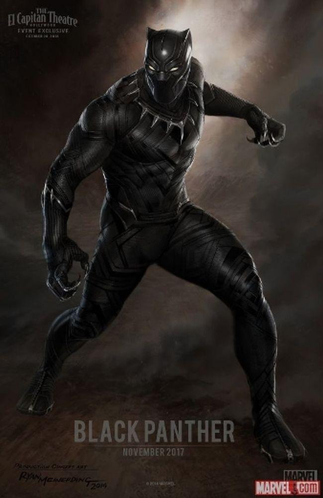Black Panther concept art. (Marvel.com Handout)