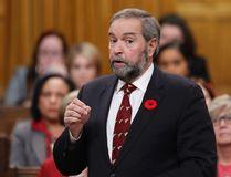 Federal NDP leader Thomas Mulcair. (CHRIS WATTIE/Reuters)