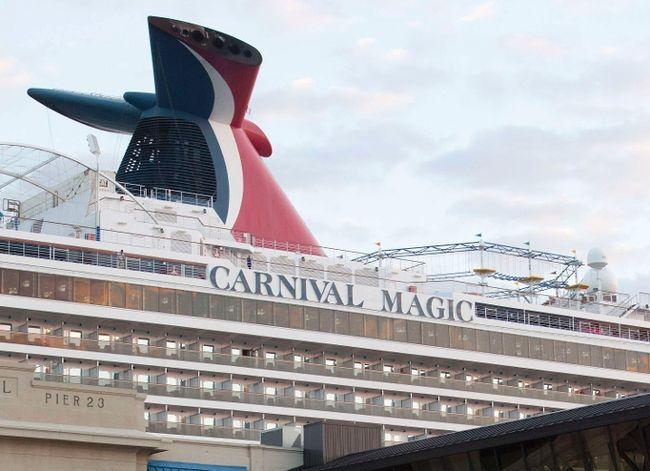 The Carnival cruise ship Carnival Magic. REUTERS/Daniel Kramer