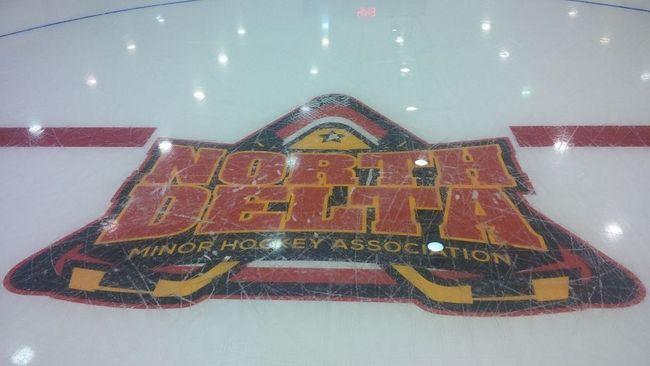 The North Delta Minor Hockey Association logo. (Facebook)