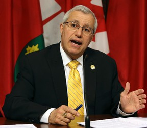 Nipissing MPP Vic Fedeli (Dave Thomas/Toronto Sun)
