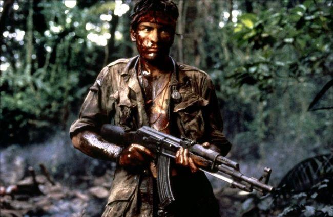 """Charlie Sheen in 1986's """"Platoon."""""""