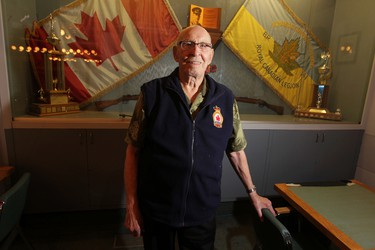 World War 2 veteran Fred Johnson spoke to The Sun for a Remembrance Day story in Winnipeg today.   Thursday, November 6, 2014.  Chris Procaylo/Winnipeg Sun/QMI Agency