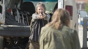 Melissa McBride plays Carol Peletier in AMC's The Walking Dead. (Gene Page/AMC)