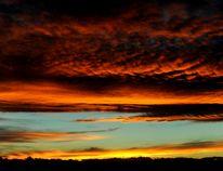 The sunset over Calgary, Alta. on Sunday October 19, 2014. Stuart Dryden/QMI Agency
