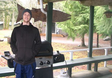 Jake Freese, co-owner and rafting guide at Sunwolf resort in Brackendale, B.C. JANE STEVENSON/QMI AGENCY