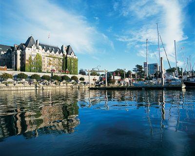 <b>7.</b> Victoria. <b>Average price per night:</b> $143. <b>Average hotel rating:</b> 82.09/100. (Courtesy JF Bergeron/Destination BC)