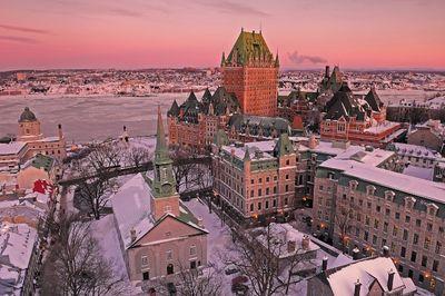 <b>8.</b> Quebec City. <b>Average price per night:</b> $161. <b>Average hotel rating:</b> 82.09/100. (Courtesy Jean François Bergeron/Office du Tourisme de Québec)