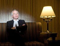 Julian Falconer, the main lawyer for the four families (DEREK RUTTAN, The London Free Press)