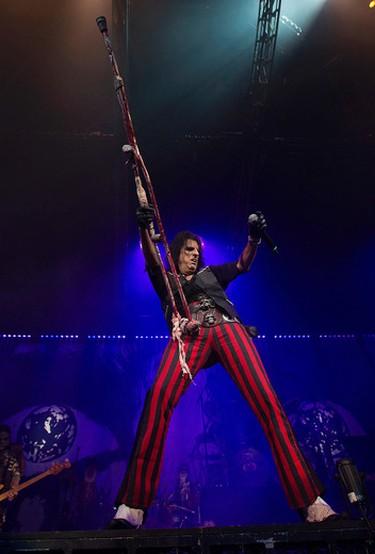 Alice Cooper performs at Rexall Place, in Edmonton Alta., on Tuesday Nov. 18, 2014. David Bloom/Edmonton Sun/QMI Agency