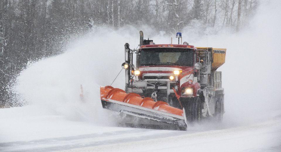 road report winter for mto almaguin