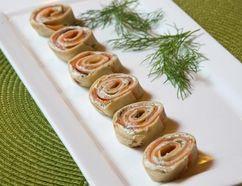 Salmon pinwheels at Jill's Table.(DEREK RUTTAN/ The London Free Press /QMI AGENCY)